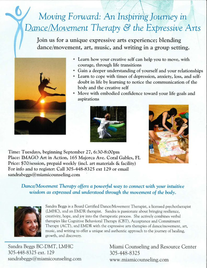 Miami Counseling Center Coral Gables Fl Dancemovement Therapy